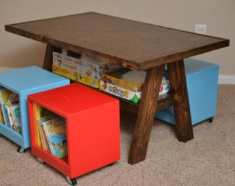KC Craigslist Ad For Custom Kids Table And Chairs