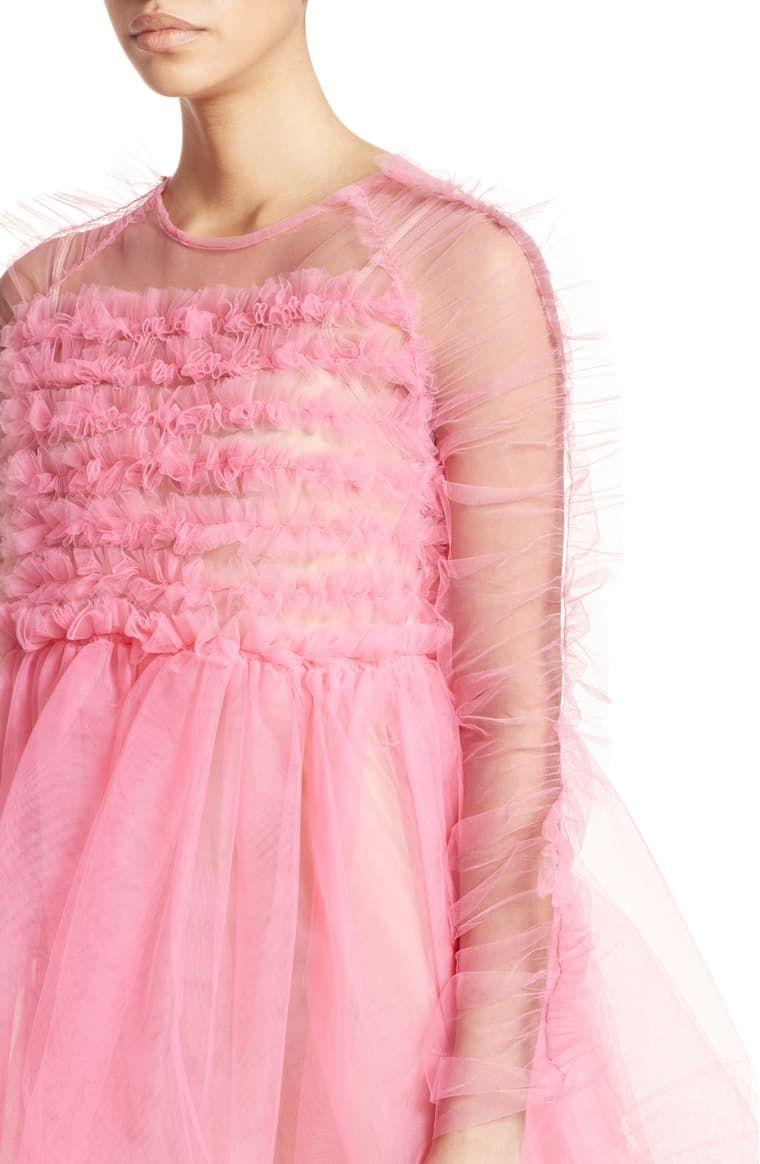 Molly Goddard Funky Tulle Dress Nordstrom Tulle Dress Pink Tulle Dress Dresses [ 1164 x 760 Pixel ]