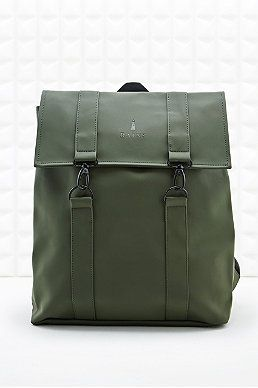 Rains Messenger Backpack in Green