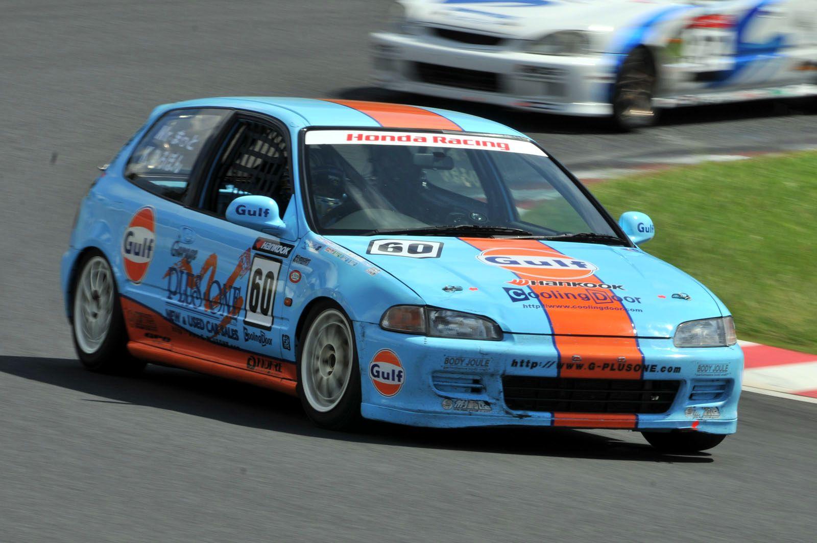 Honda Civic (EG) Race Car   Classic Cars   Pinterest   Honda civic ...