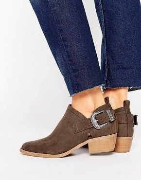 new arrival cece1 f73d8 Resultado de imagen para botines talon descubierto Zapatos Dama, Calzado  Mujer, Botas, Botin