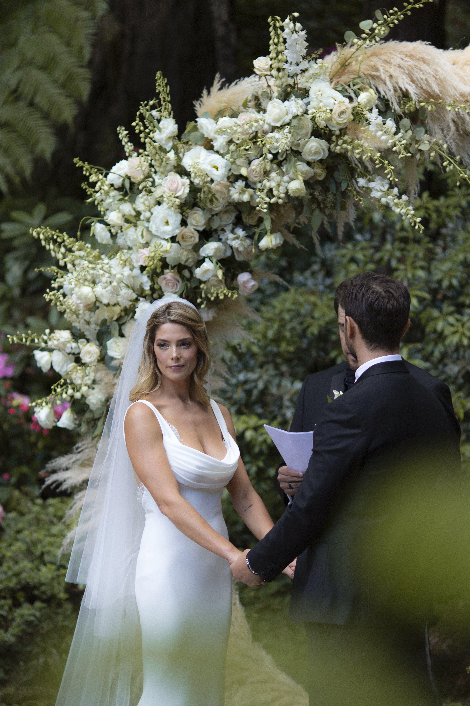 Ashley greene and paul khourys wedding a stunning