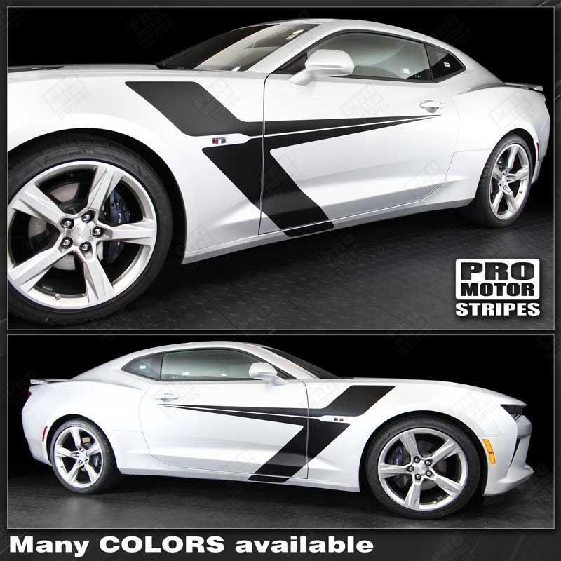 Chevrolet Camaro 2010-2019 Side Accent Sport Stripes