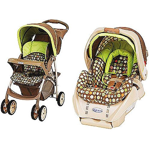 LiteRider Travel System & SnugRide Car Seat In