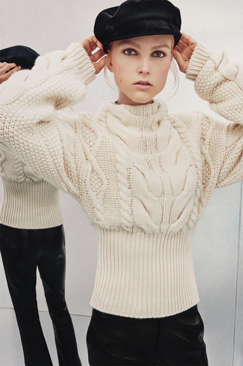 Zara Studio Fall / Winter 2017 Collection   Sweter, Tejido y Moda de ...