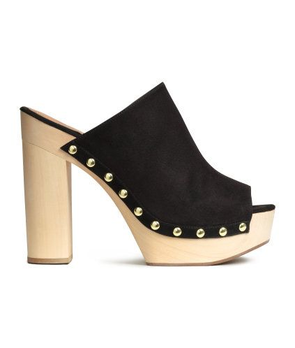 cd1337708b Platform Slip-in Shoes | Product Detail | H&M | STEPPIN | Platform ...