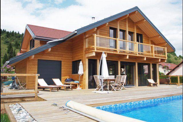 myotte duquet architecture bois reportage construction maisons ossature bois poteau poutre c. Black Bedroom Furniture Sets. Home Design Ideas
