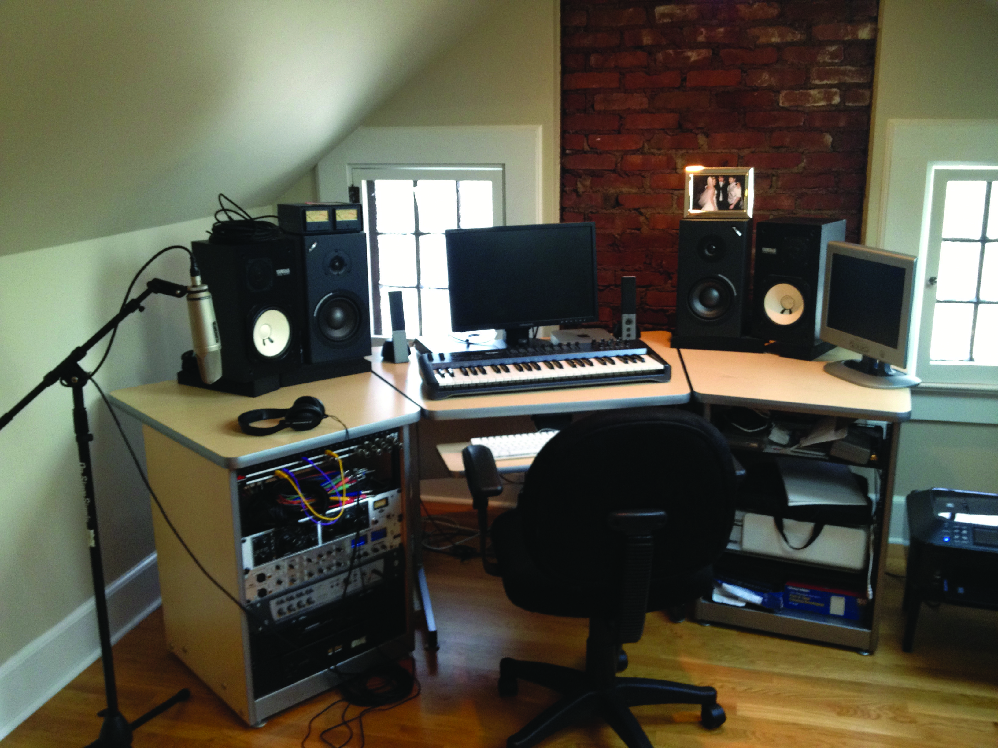 Ever wonder how to set up your own home recording studio