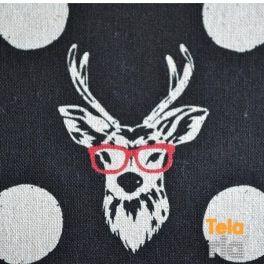 ciervo con gafas