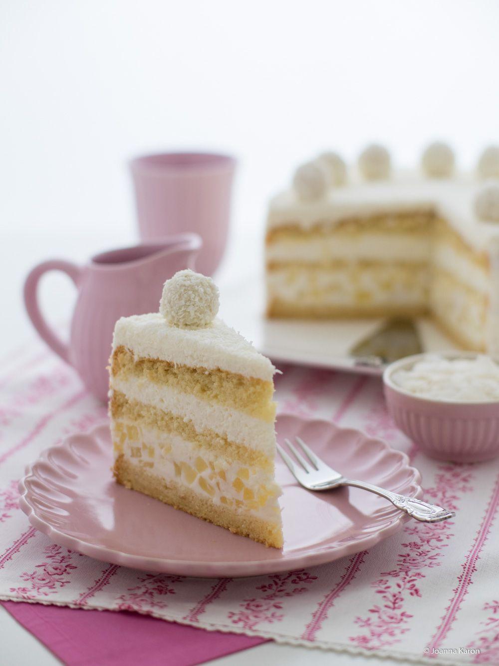 Kokos-Ananas-Torte #ichbacksmir #schneegestöber   ICH BACKS MIR ...