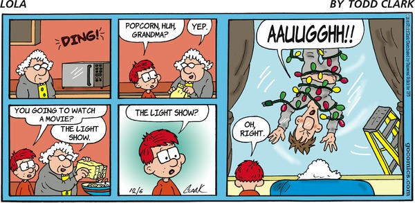 On the fifth day of #Christmas, GoComics gives to you … Holiday entertainment in its purest form! ... Read more @ http://blogs.gocomics.com/2015/12/12-days-of-christmas-countdown-day-5.html?utm_source=pinterest&utm_medium=socialmarketing&utm_content=12daysxmas-12daysofchristmascountdownday5-blog&utm_campaign=social | #GoComics #comics #webcomic #12DaysOfChristmas