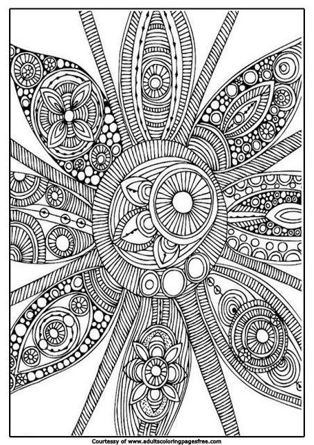 Epic Free Printable Abstract Coloring Pages 38 free printable mandala coloring