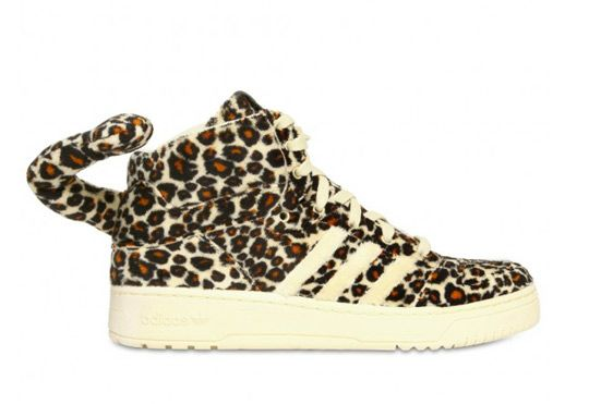 newest 3e143 97a8b Extravagant designer Jeremy Scott and adidas doesn t disappoint with their  next shoe release set for Spring Summer Breaking away from his iconic wing  theme, ...
