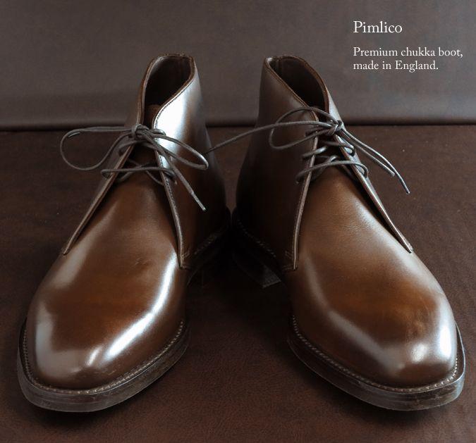 Pimlico Chukka Boots by Loake