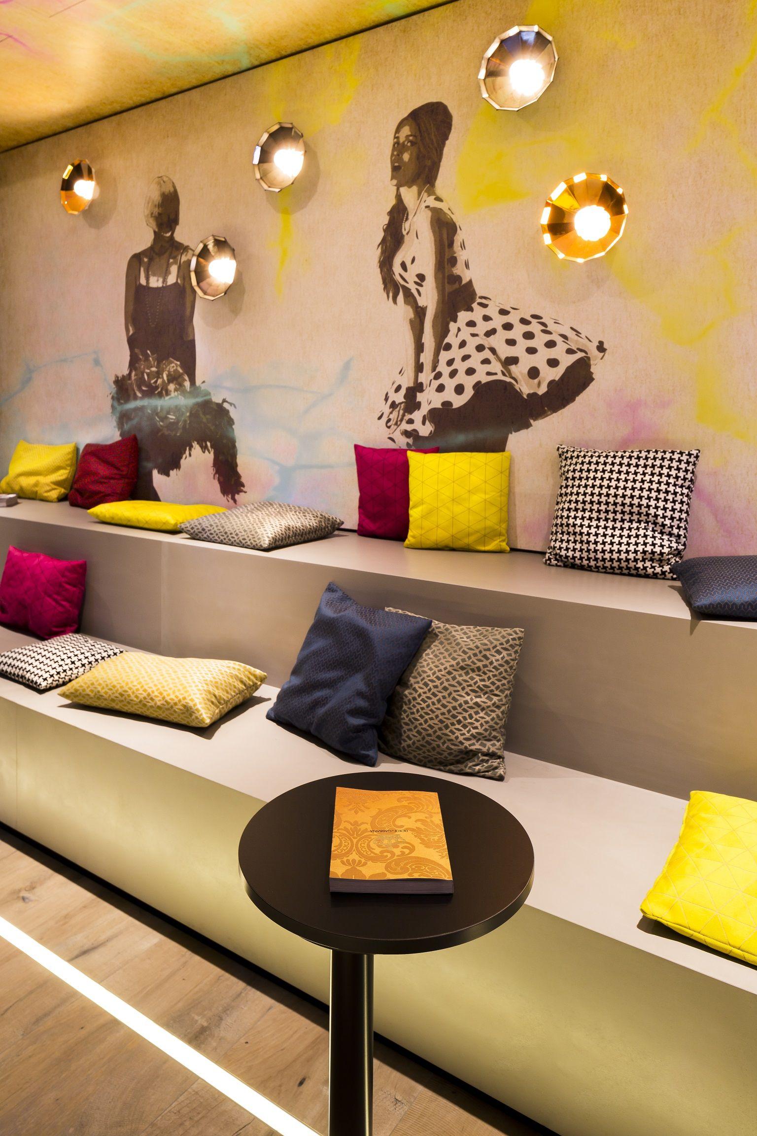 Lounge Hotel Mercure Wittenbergplatz Berlin Design by Kitzig Interior Design