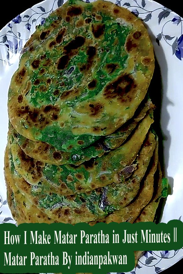 Matar paratha is very tasty to eat and very easy to make. It takes very little material and time to make.     #matarparatha #paratha #indianpakwan #healthyfood #foodies #delhi #mumbai #mumbaifoodies #delhifoodies #indianrecipe #indianparatha #indianfood #indianfoodies