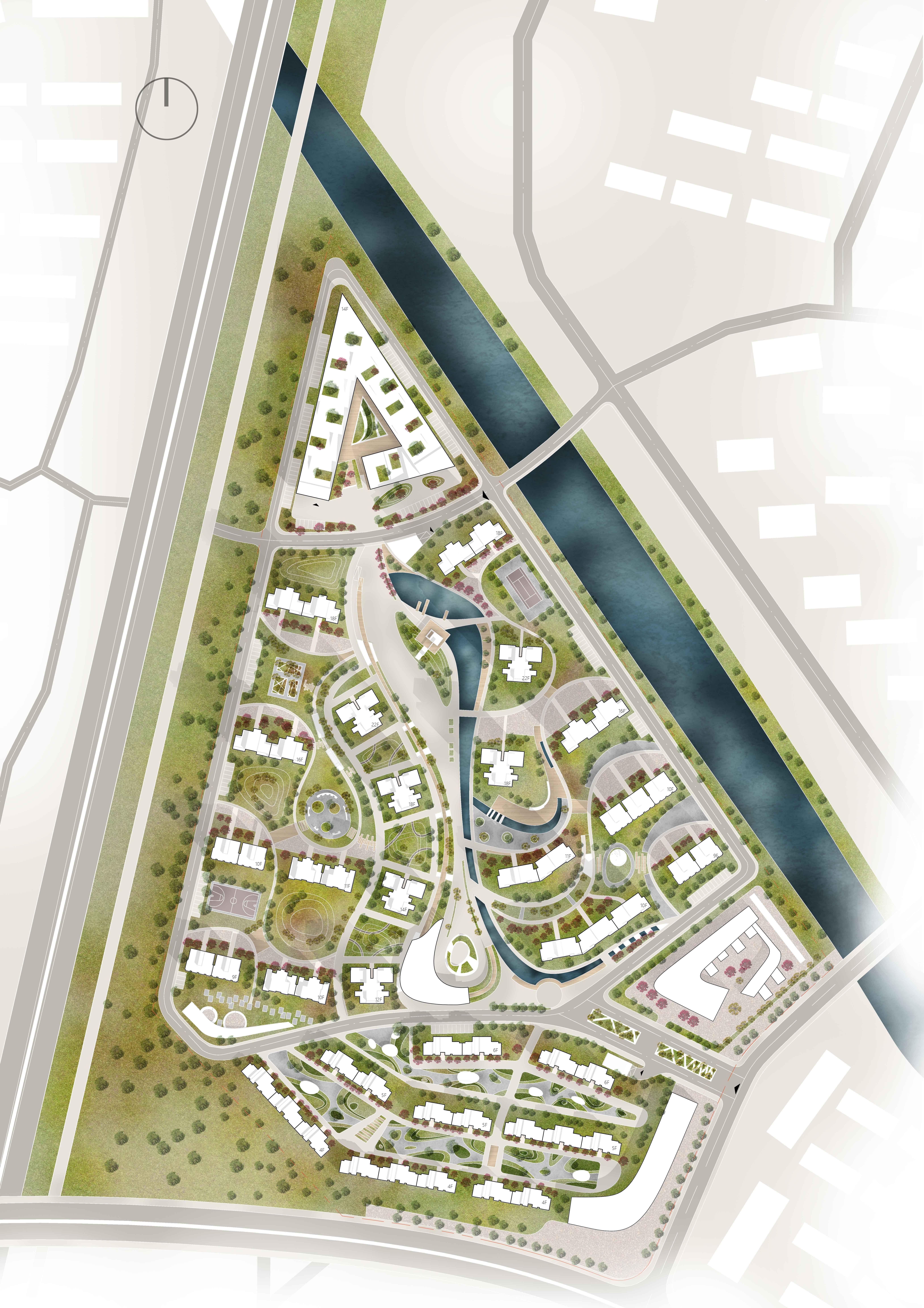 Residential Planning Masterplan Urban Design Plan Urban Design Graphics