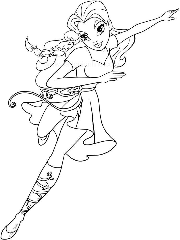Dc Superhero Girls Coloring Pages Dc Superhero Girls Is An Animated Action Adventure Serie In 2020 Superhero Coloring Pages Superhero Coloring Avengers Coloring Pages