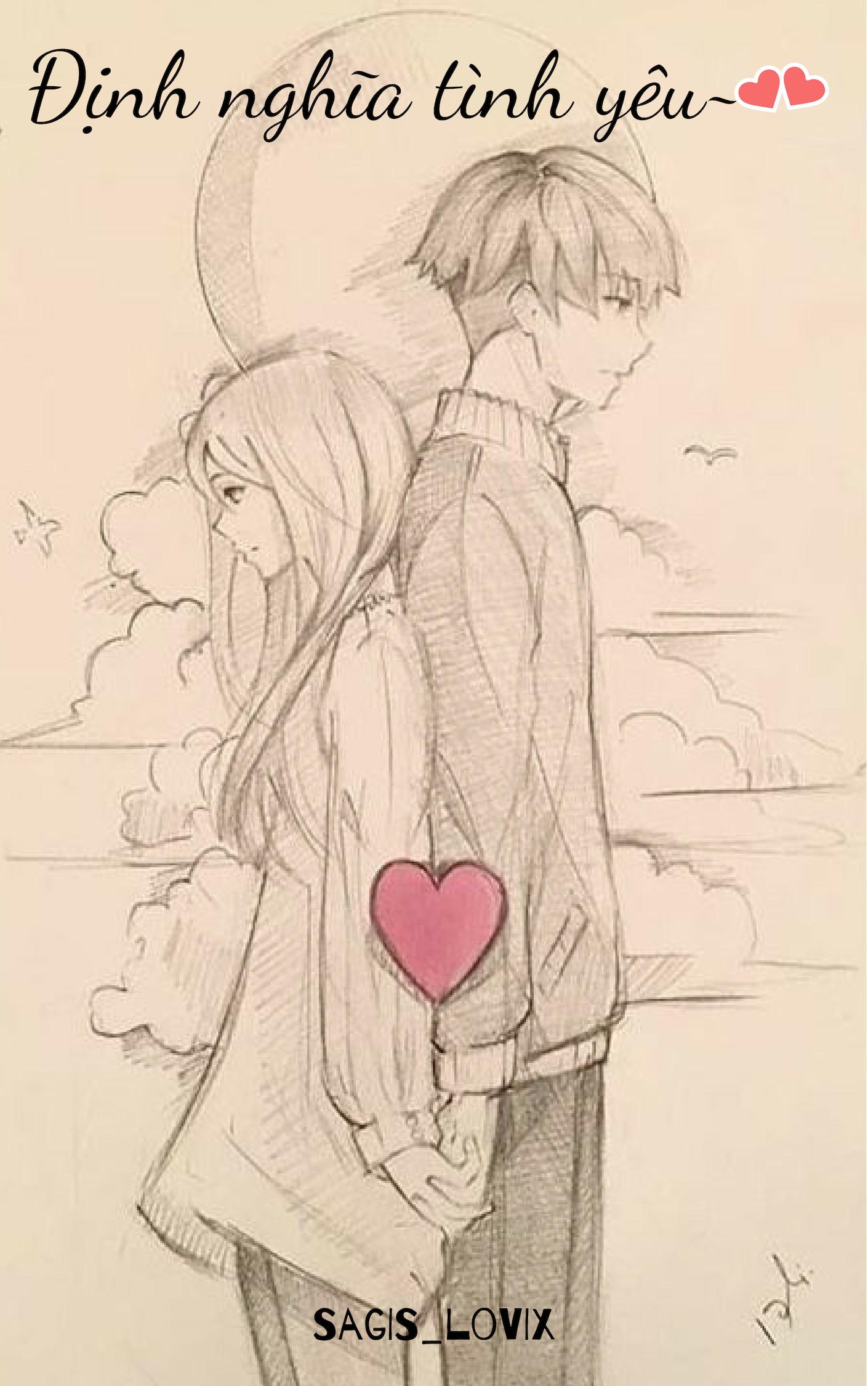 Pin De Trang Bùi Em Bìa Desenhos De Casais Anime Desenhos
