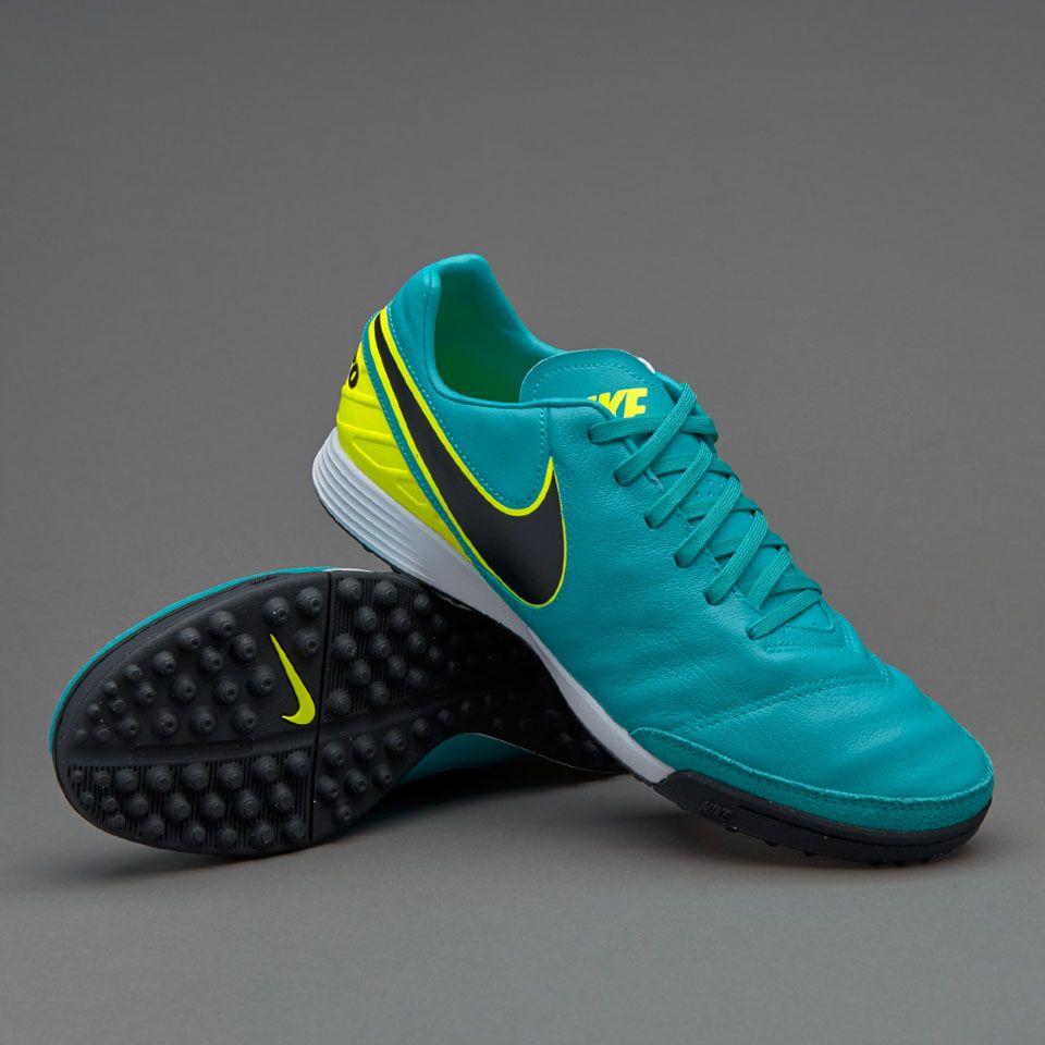 6f61e5779 Nike Tiempo Mystic V TF - Clear Jade Black Volt