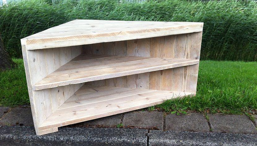 Tv meubel steigerhout google zoeken meubels pinterest catalog interiors and house - Exotisch onder wastafel houten meubilair ...