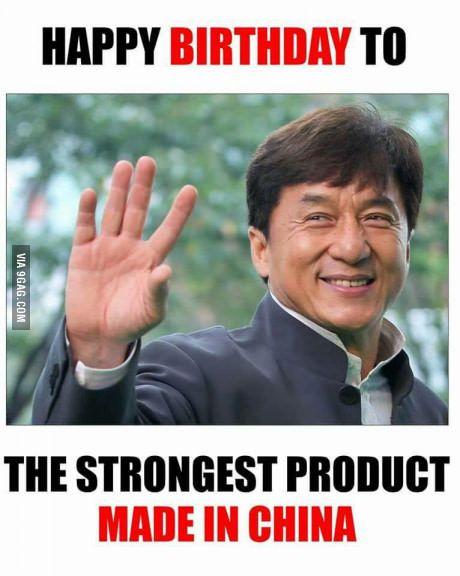 Happy Birthday Jackie Chan Best Of 9gag Pinterest Jackie Chan