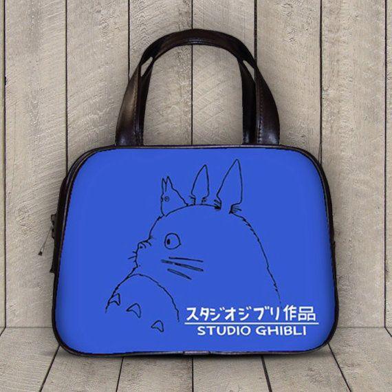 Studio Ghibli My Neighbor Totoro 2 Sides Classic Diaper Purse Handbag - 10210