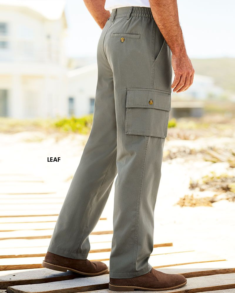 15cdb4cb7c79 Cargo Comfort Trousers at Cotton Traders