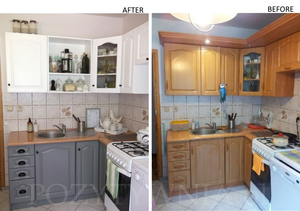Poskromienie Pazdzierza Czyli Renowacja Mebli Kuchennych Pozytywnia Pl Kitchen Remodel Kitchen Decor Home Decor