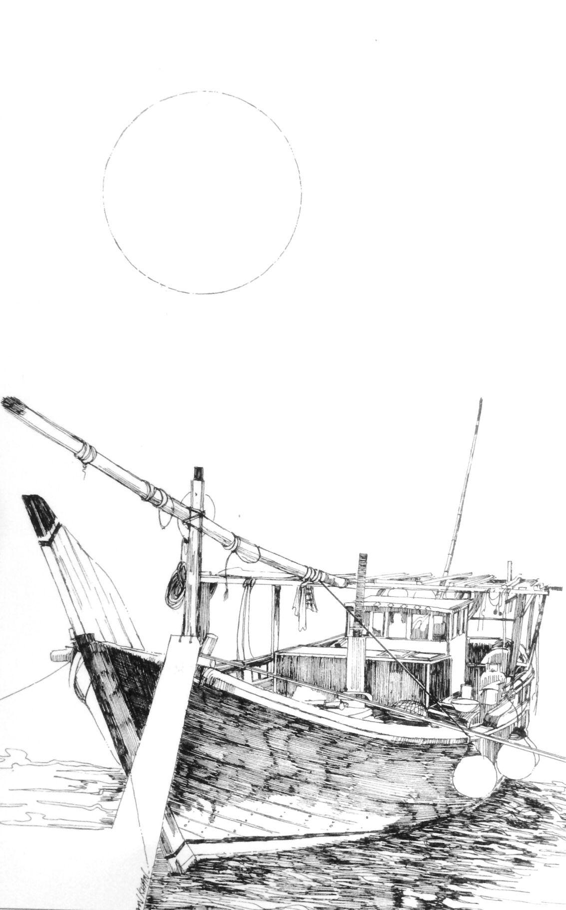 Dubai Abra in ( 1981 ) Illustration by Irfan Khan