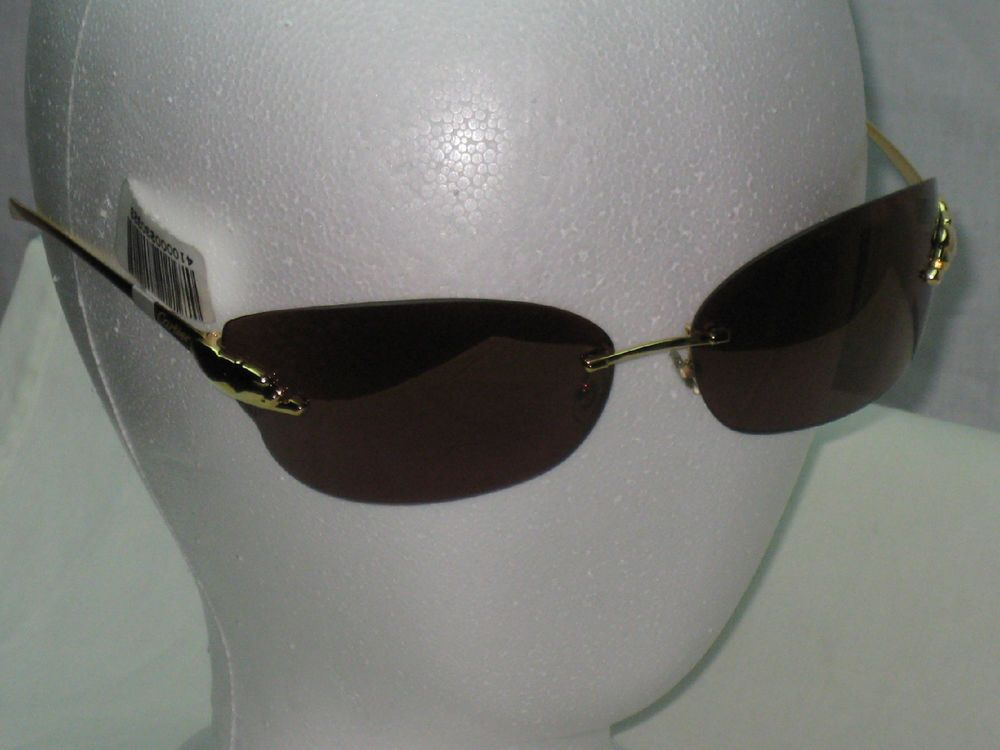 NWOT Authentic de Cartier Panthere 110 Gold Frame Panthere ...