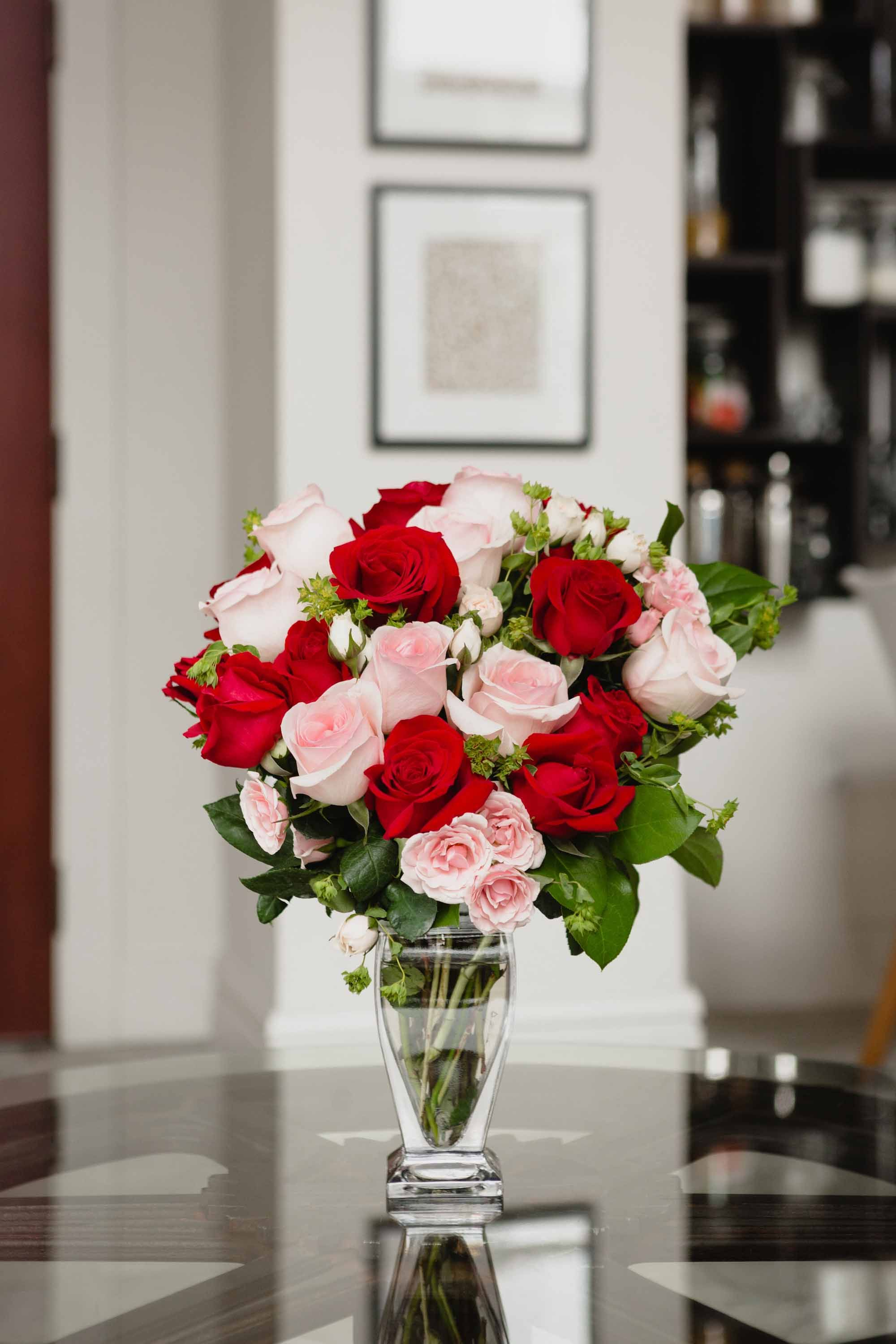 Cupids creation by teleflora valentines day flowers