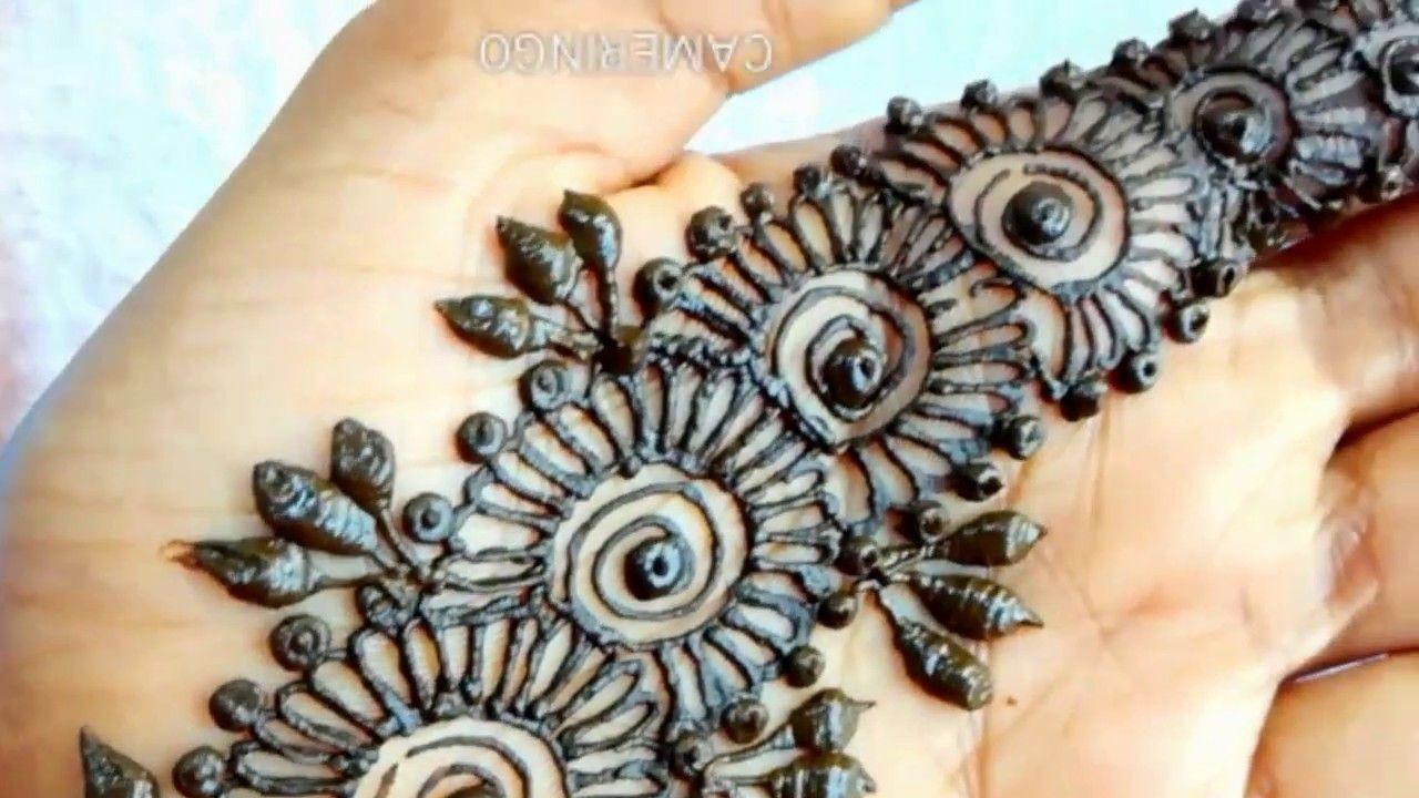 Simple Flower Mehndi Design For Hand Mehndi Designs For Hands Mehndi Designs Hand Mehndi