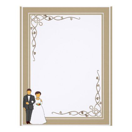 Marriage Stationary Letterhead Married Gifts Wedding Anniversary
