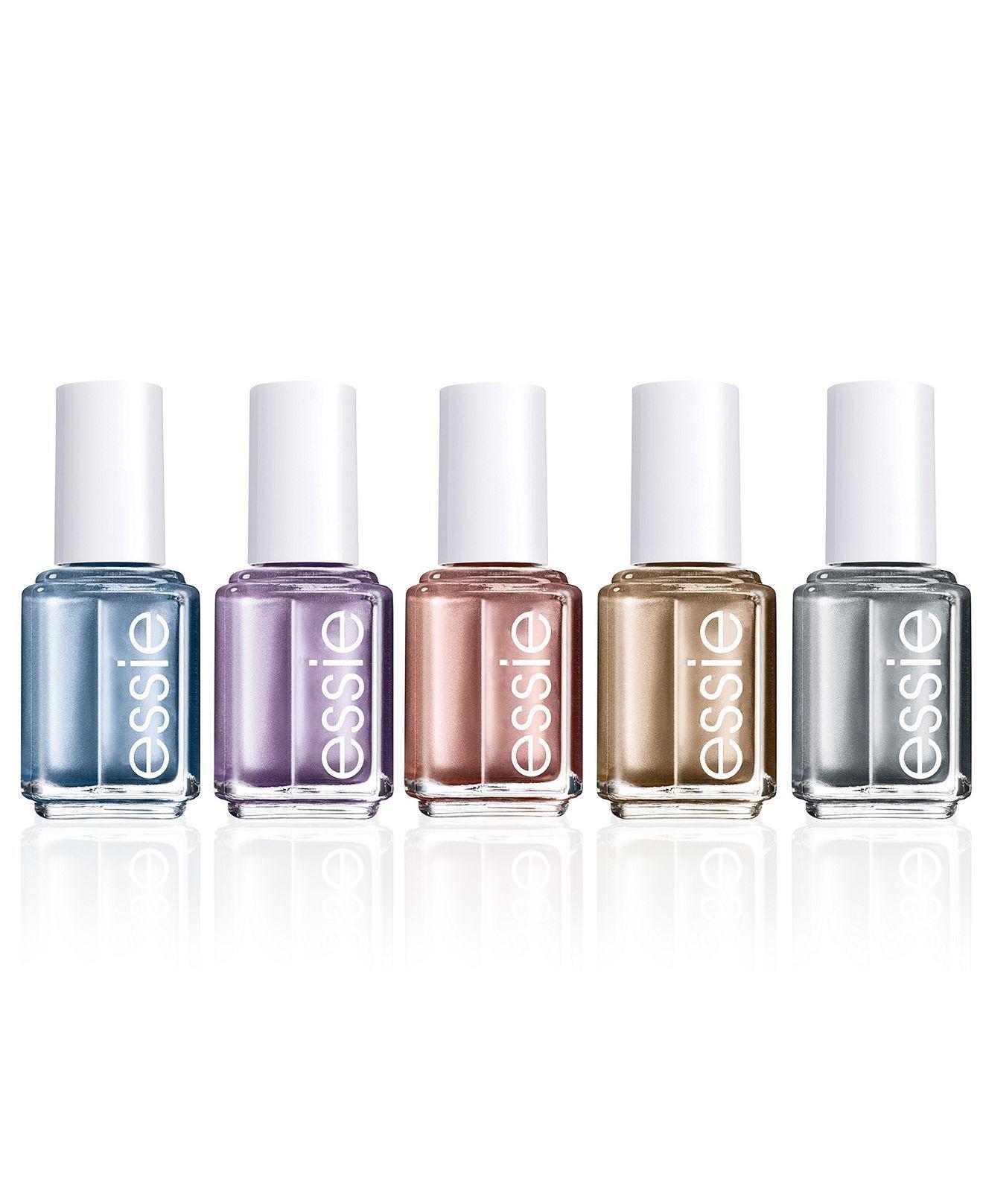 Essie mirror metallics collection | Metallic, Metallic nails and ...