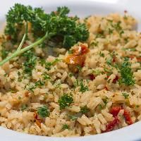 Sun Dried Tomato And Rosemary Rice