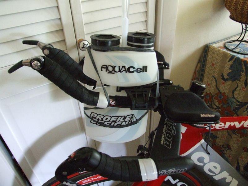 Close Up Of My Profile Design Aquacell Aerodynamic Water Bottle