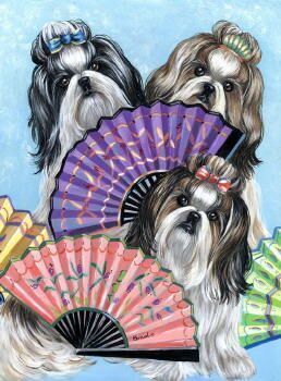 The Inky Paw Shih Tzu Gifts Note Cards And Collectibles Animal