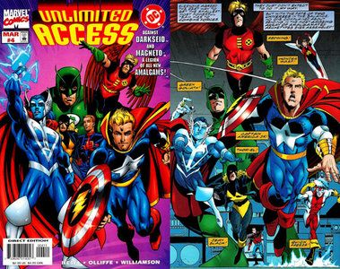 Unlimited Access Marvel Dc Characters All Mixxed Up Marvel And Dc Characters Dc Characters Comic Books