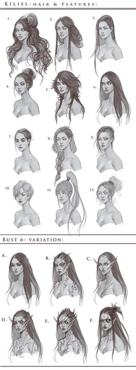 Photo of Hairstyles Drawing Male Long