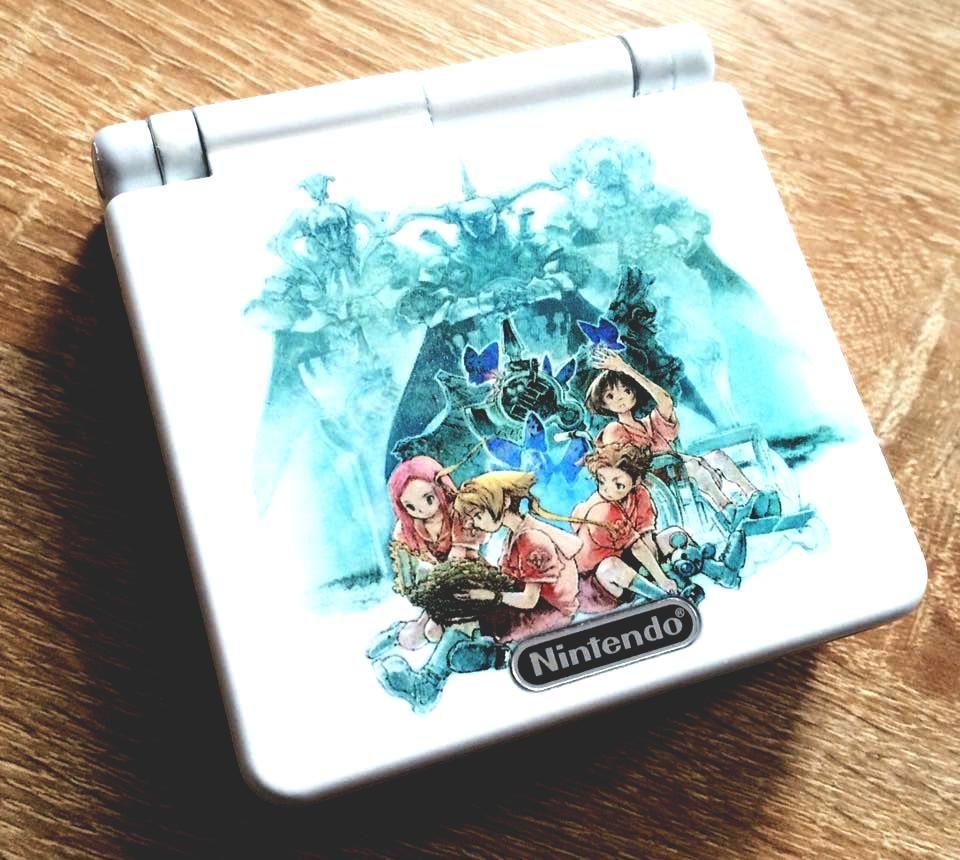 Gameboy Advance Sp Final Fantasy Tactics Advance Custom Limited