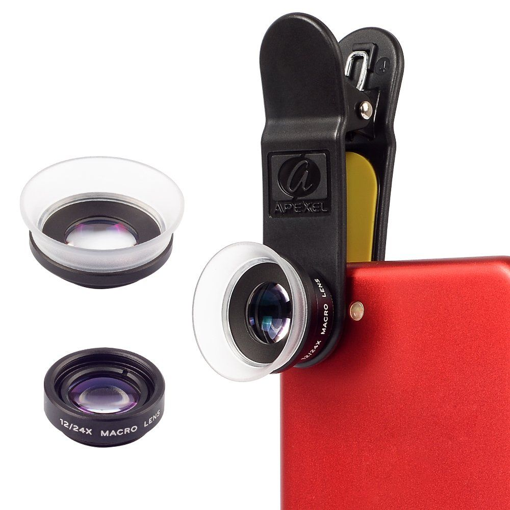 Apexel iphone lens filter lens kit for iphone https
