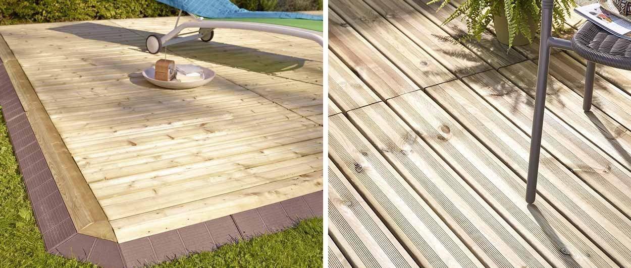 Installer Une Terrasse En Bois Terrasse Facile Et Rapide A Poser 18h39 Fr 18h39 Fr A Bois En Et Facile Installer Poser Rapide Te En 2020 Terrasse Bois