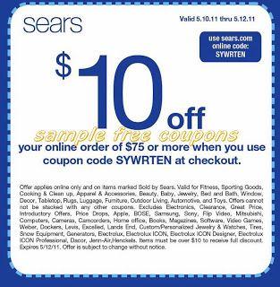 Printable Coupons Sears Coupons Printable Coupons Free Printable Coupons Coupons