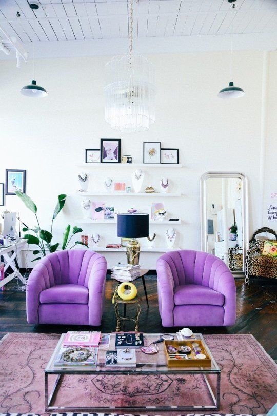Design Lessons from Seven Super Colorful Living Rooms Colorful