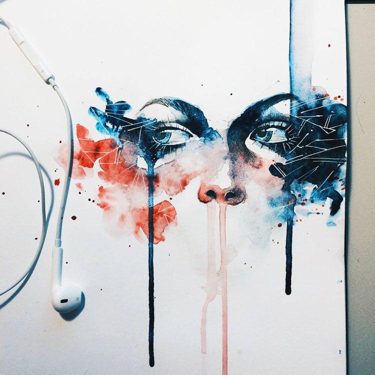 Les Peintures Tres Colorees De L Artiste Kelogsloops Peinture