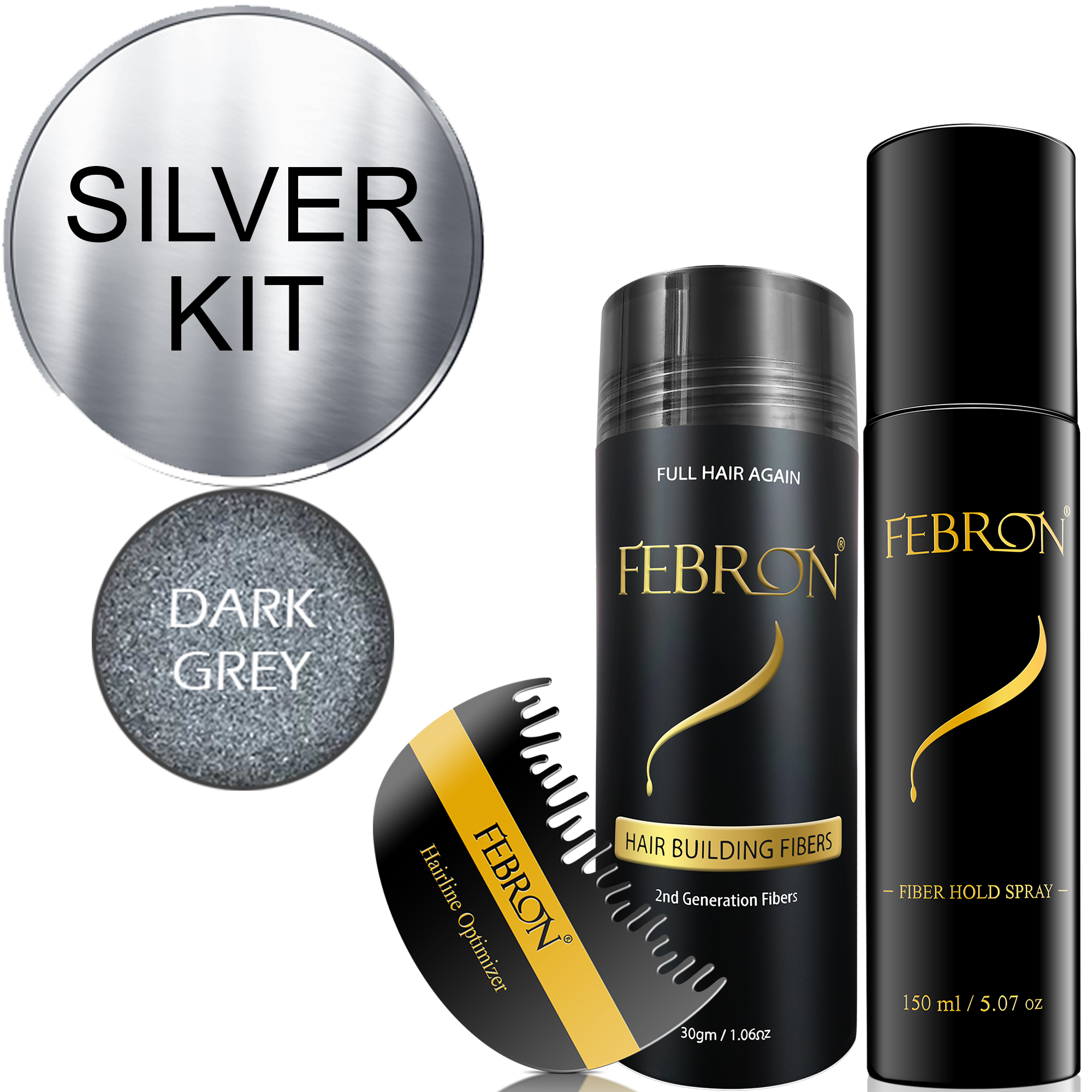 Febron® SILVER KIT 10 OFF   Dark Gray Gallery
