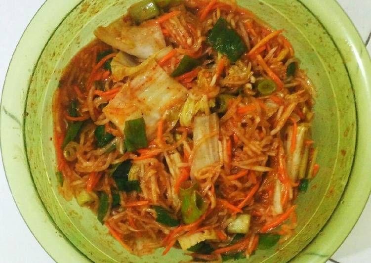 Resep 3 Kimchi Praktis Dan Sederhana Yang Lezat Di 2020 Resep Kimchi Masakan Korea