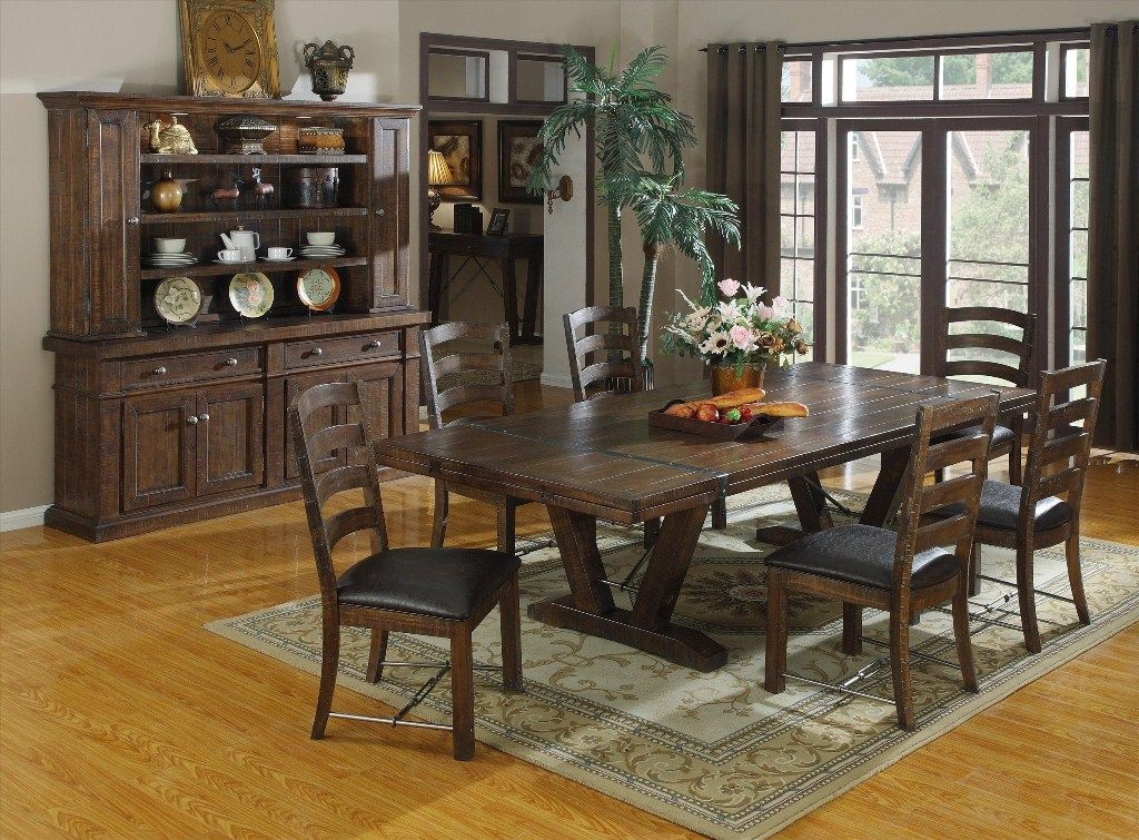 image of rustic dining room furniture manufacturers dining room rh pinterest com dining room table manufacturers utah dining room furniture manufacturers uk