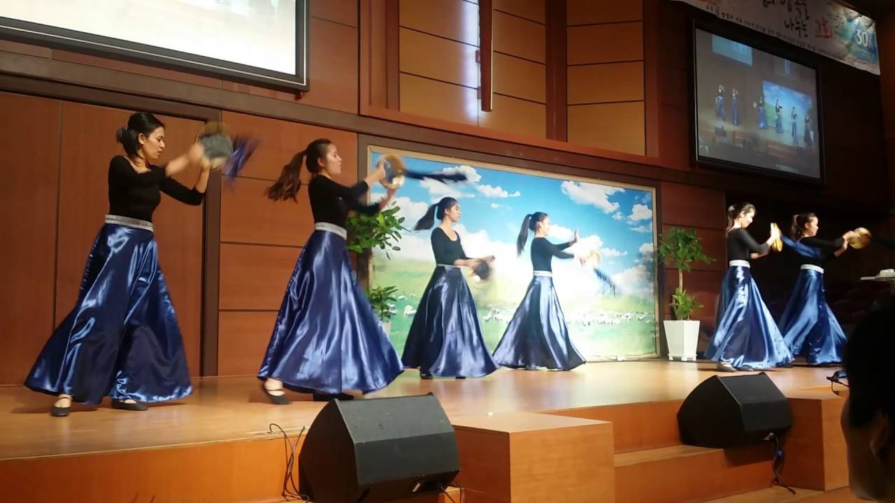2202648318b3 With One Voice (Tambourine Dance) at Beautiful Church by Christ's Ambass.